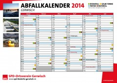 Bild Abfallkalender Gerwisch